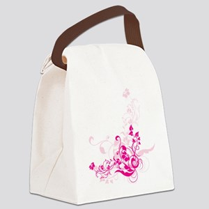 png_swirl-flowers-design-2 Canvas Lunch Bag