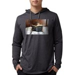 Boy With The Bible Mens Hooded Shirt