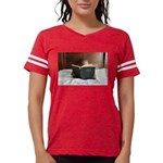 Boy With The Bible Womens Football Shirt