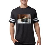 Boy With The Bible Mens Football Shirt