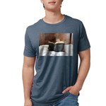 Boy With The Bible Mens Tri-blend T-Shirt