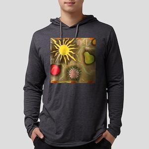 sun tile Mens Hooded Shirt