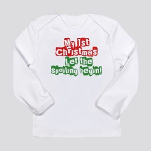 1st christmas copy Long Sleeve T-Shirt