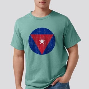 Cuban Roundel Aged Mens Comfort Colors Shirt