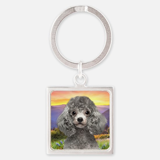 meadow2.png Square Keychain