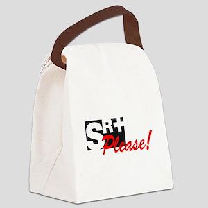 SR+ please copy Canvas Lunch Bag