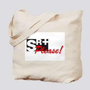 SR+ please copy Tote Bag