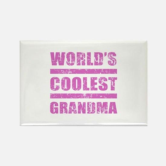 World's Coolest Grandma Rectangle Magnet