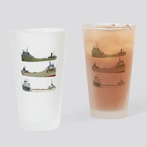 Cement Carriers Drinking Glass