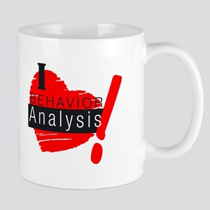 I Love behavior analysis Mugs