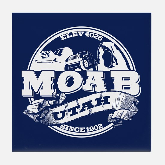 Moab Old Circle Tile Coaster