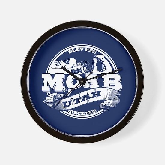 Moab Old Circle Wall Clock