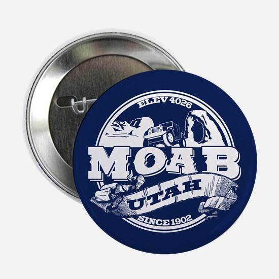 """Moab Old Circle 2.25"""" Button"""