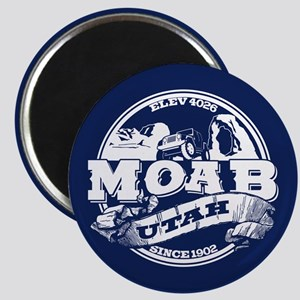 Moab Old Circle Magnet