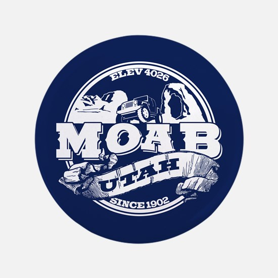 """Moab Old Circle 3.5"""" Button"""
