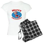 Merry Christmas Pup Women's Light Pajamas