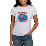 Merry Christmas Pup Women's T-Shirt