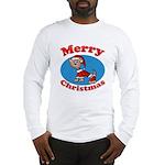 Merry Christmas Pup Long Sleeve T-Shirt