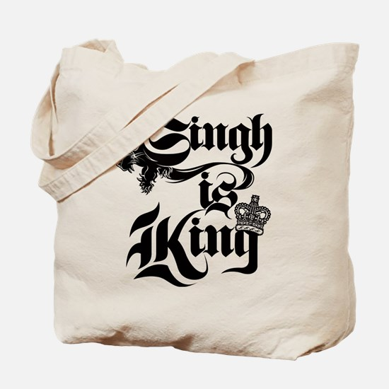 Singh Is King Tote Bag
