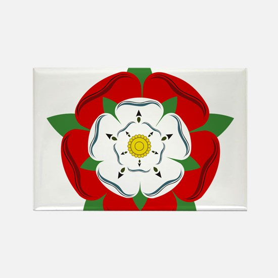 Heraldic Rose Rectangle Magnet