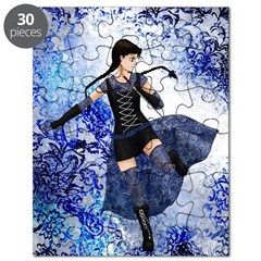 Blue Girl- Puzzle