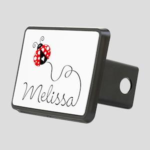 Ladybug Melissa Rectangular Hitch Cover