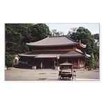 Kyoto Japanese Temple Sticker