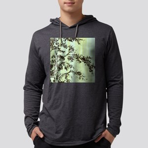 Painted Branches_11x11_pillow.pn Mens Hooded Shirt
