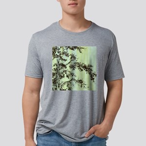 Painted Branches_11x11_pill Mens Tri-blend T-Shirt