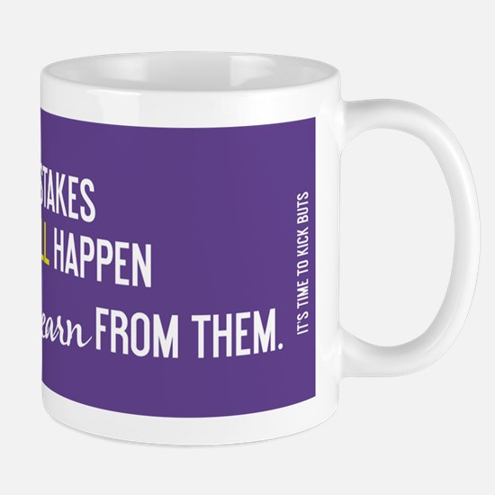 Unique Learn from mistakes Mug