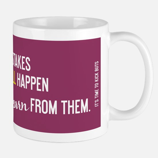 Learn from mistakes Mug