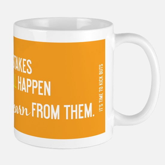Cute Learn from mistakes Mug