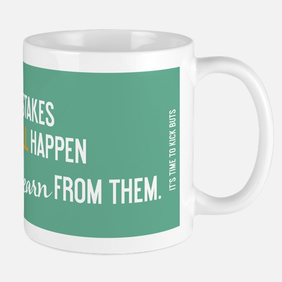 Funny Learn from mistakes Mug