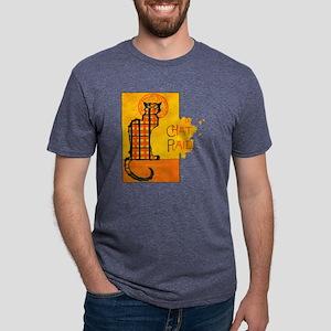 chat Mens Tri-blend T-Shirt