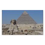 Sphinx and Pyramids Sticker