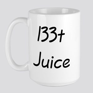 l33t Juice Coffee Mug (Large)