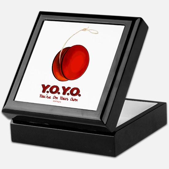 Red Y.O.Y.O. Keepsake Box