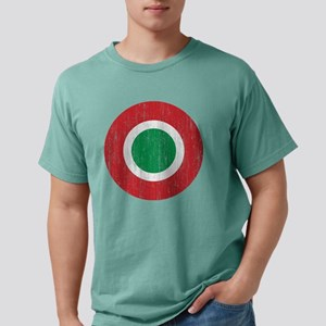 Italy Roundel Aged Mens Comfort Colors Shirt