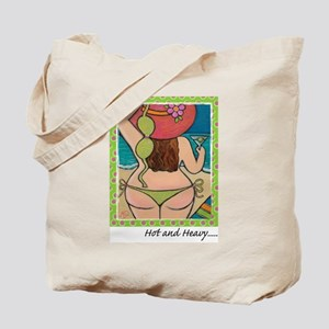 Hot and Heavy Tote Bag