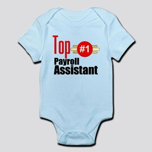 Top Payroll Assistant Infant Bodysuit