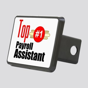 Top Payroll Assistant Rectangular Hitch Cover