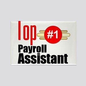 Top Payroll Assistant Rectangle Magnet