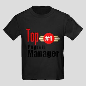 Top Payroll Manager Kids Dark T-Shirt