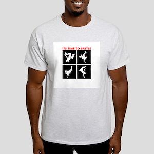 Breakdance Battle Ash Grey T-Shirt