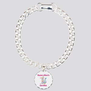 Custom guess whos 1 girl Charm Bracelet, One Charm