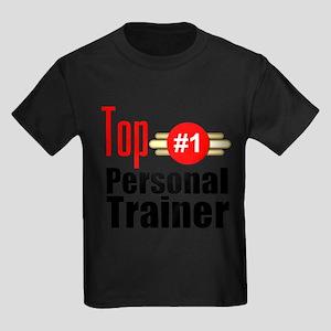 Top Personal Trainer Kids Dark T-Shirt