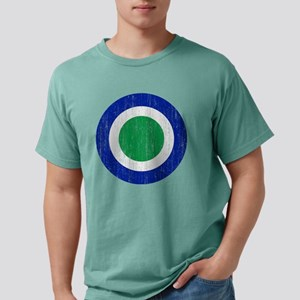Lesotho Roundel Aged Mens Comfort Colors Shirt