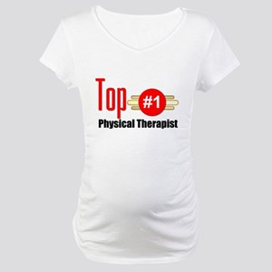 Top Physical Therapist Maternity T-Shirt