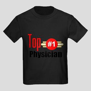 Top Physician Kids Dark T-Shirt