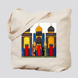 Mohammed and angel Gabriel ea Tote Bag